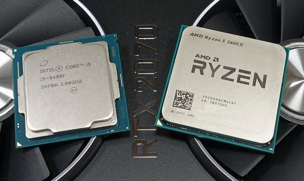 Intel Core i5 9400F vs AMD Ryzen 5 2600X