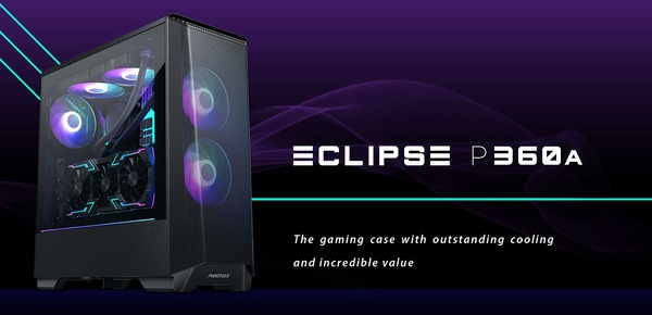 Phanteks Eclipse P360A_top