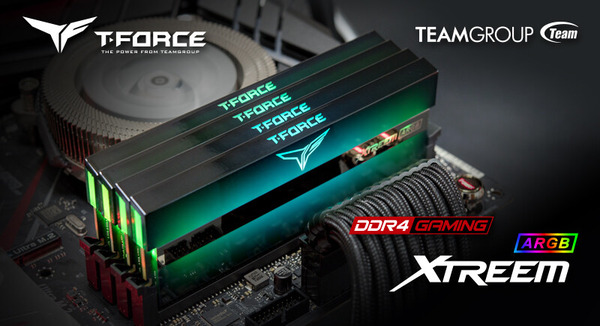 Team T-FORCE Xtreem ARGB DDR4_x4-kit
