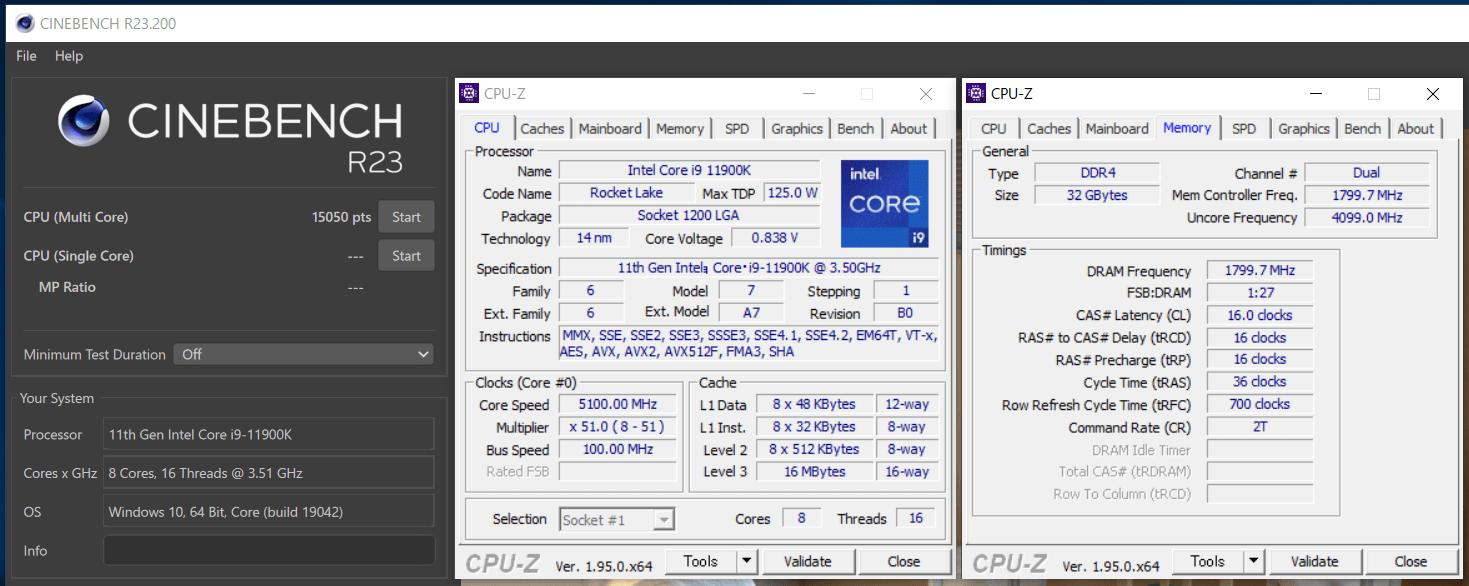 Core i9 10900K PL1-200W_cinebenchR23