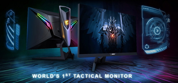 GIGABYTE AORUS AD27QD Gaming Monitor_top