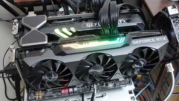 GeForce RTX 3090 NVLink SLI