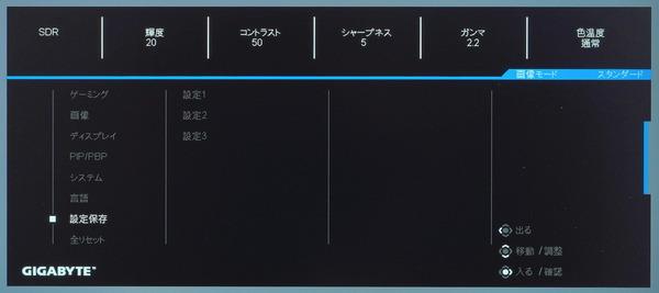GIGABYTE M28U_OSD_menu (7)