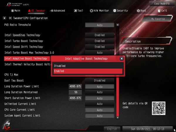 ASRock Z590 PG Velocita_BIOS_OC_23