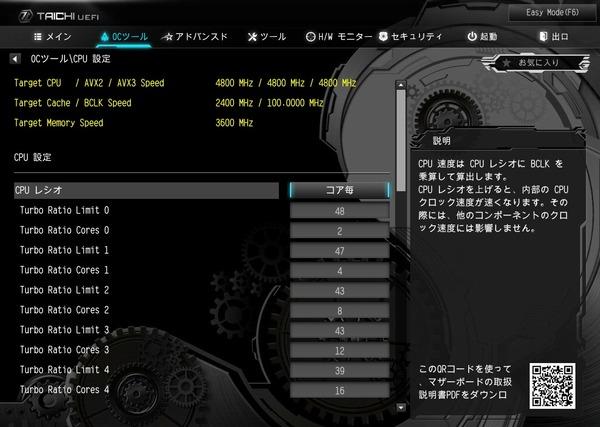 ASRock X299 Taichi CLX_BIOS_OC_4