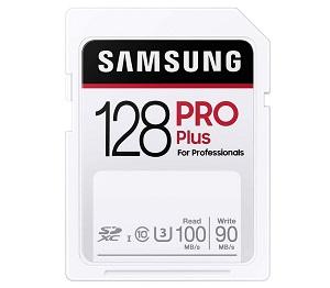 Samsung SDXCカード PRO Plus 128GB (MB-SD128H/EC)