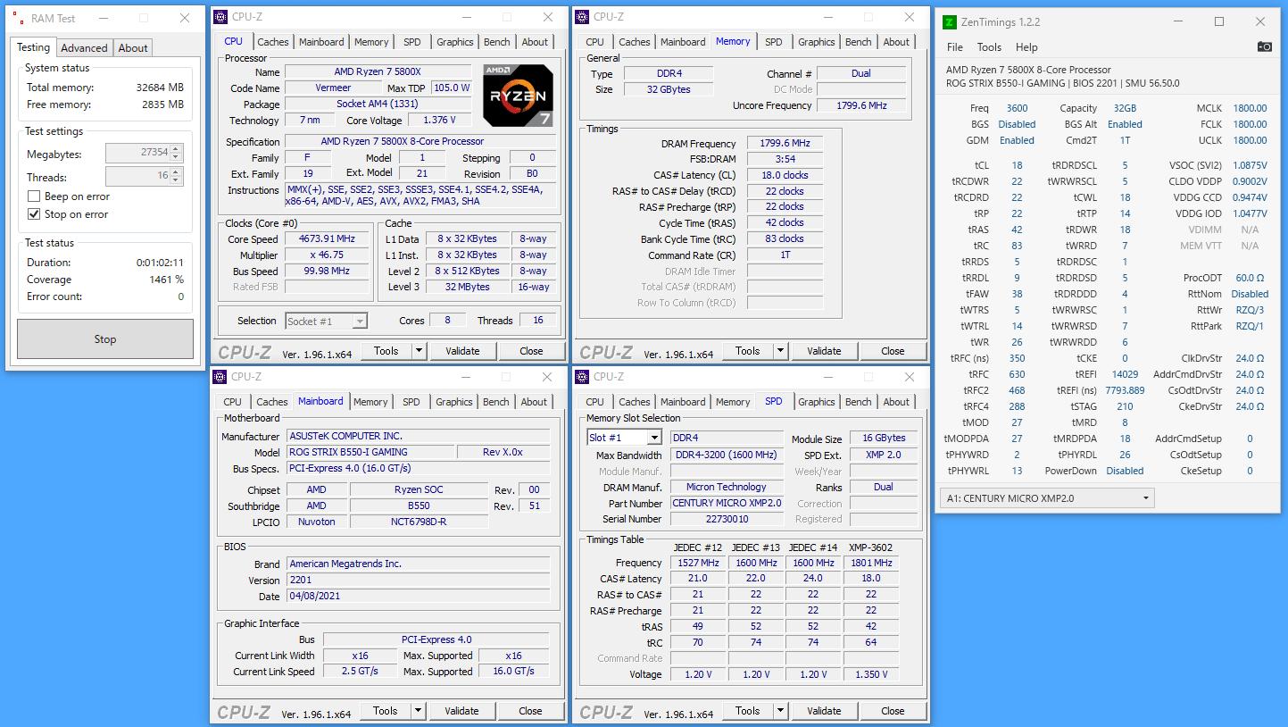G-GEAR alpha GS7A-B204TWH_Memory_OC-XMP