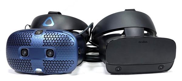 HTC VIVE CosmosとOculus Rift Sはどちらが買いか徹底比較
