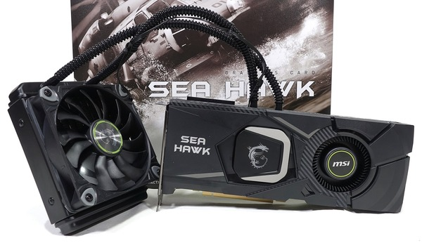 MSI GeForce RTX 2080 Ti SEA HAWK