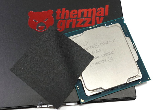 Thermal Grizzly Carbonaut_Core i9 9900K