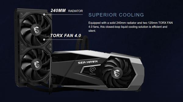 MSI GeForce RTX 3080 SEA HAWK X 10G_AIO-Water-Cooler