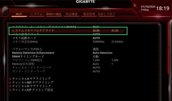 GIGABYTE C621 AORUS XTREME_BIOS_OC_15