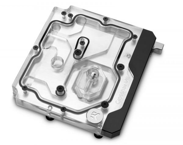 EK-Quantum Momentum ROG Crosshair VIII Hero D-RGB - Plexi (1)