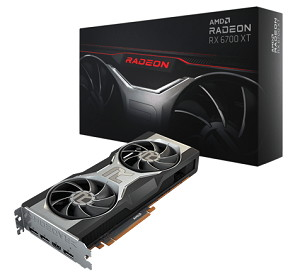AMD Radeon RX 6700 XT リファレンスモデル