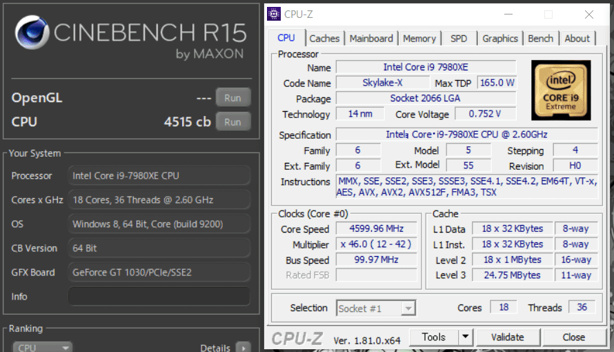 Core i9 7980XE_4600MHz_cinebench