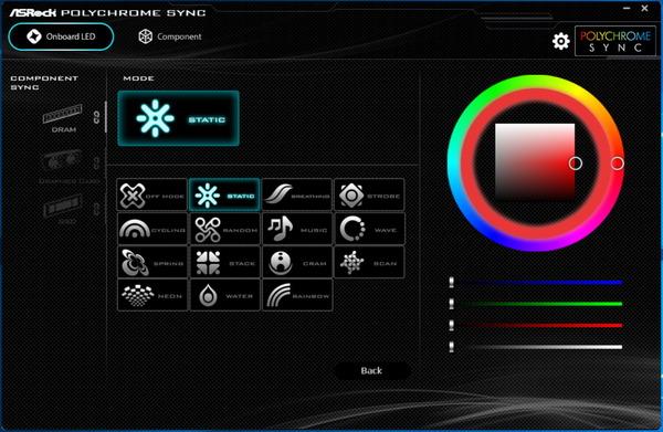 ASRock Polychlome RGB Sync