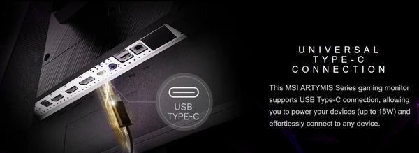 MSI Optix MEG381CQR Plus_USB Type-C