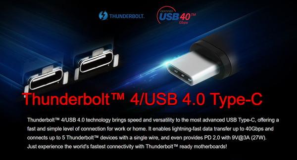ASRock Z590 Phantom Gaming-ITX_TB4_Thunderbolt4