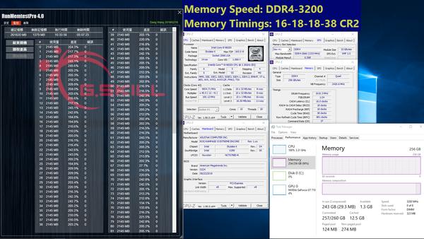 G.Skill DDR4 32GB-Module_256GB_3200MHz