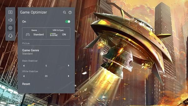 LG OLED48C1PJB_Game-Optimaizer