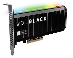 WD_BLACK AN1500 NVMe SSD Add-in-Card 4TB