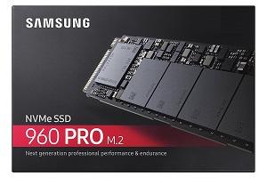 Samsung 960 PRO 512GB NVMe M.2 SSD (MZ-V6P512BW)