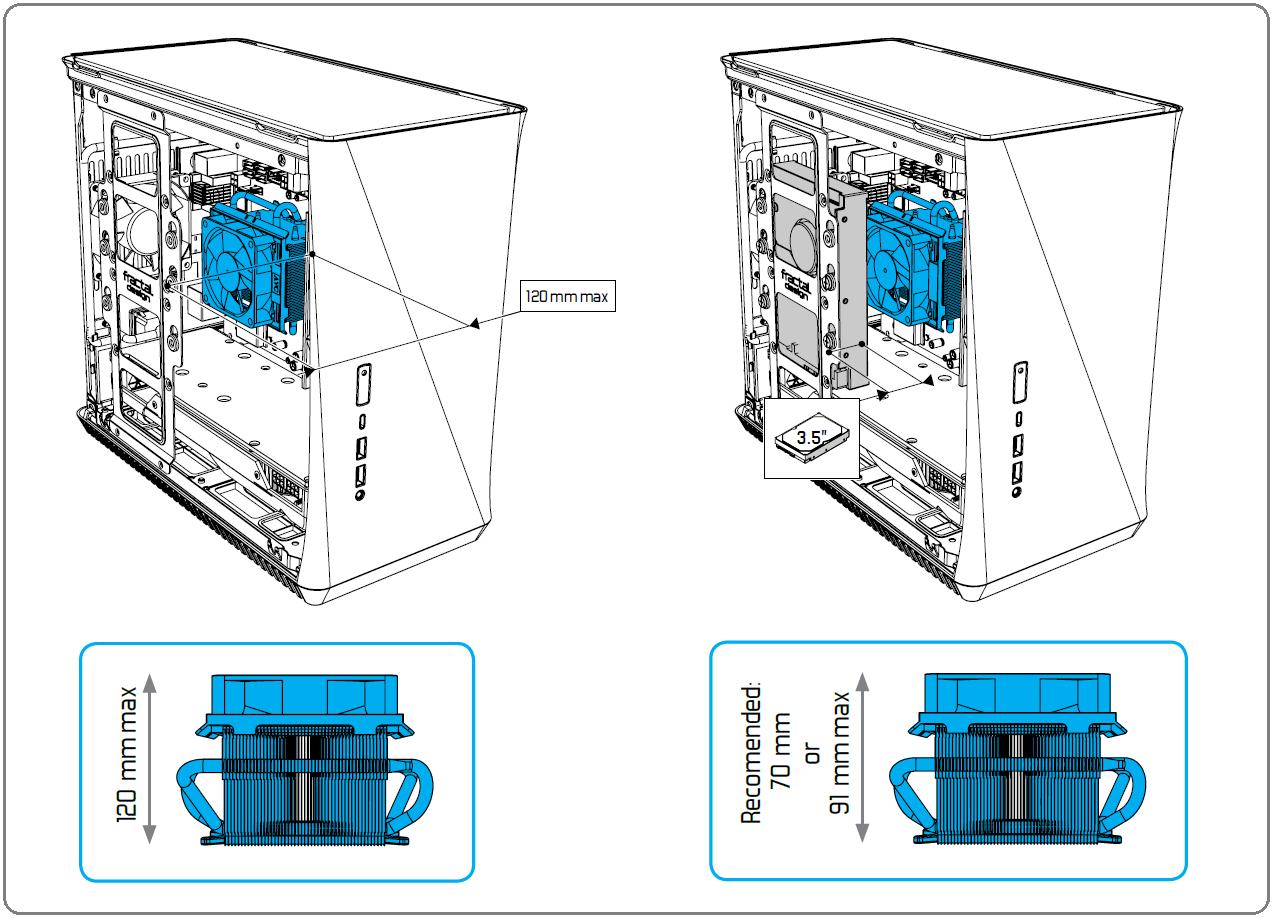 Fractal Design Era ITX_CPU-Cooler-clearance