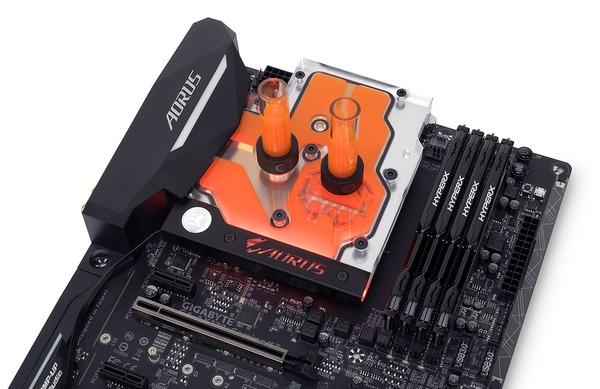 Nickel EKWB EK-FB GA X470 Gaming 5 RGB Monoblock