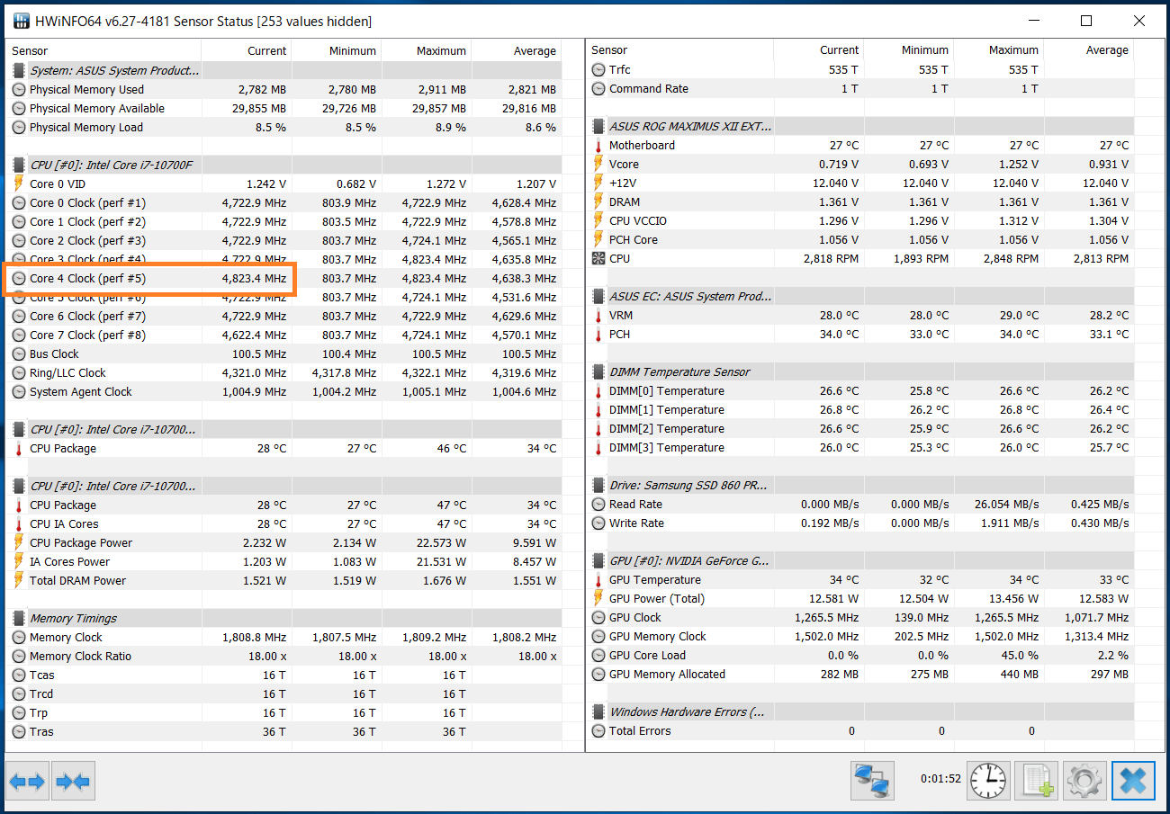 Intel Core i7 10700F_Boost-Clock_Single