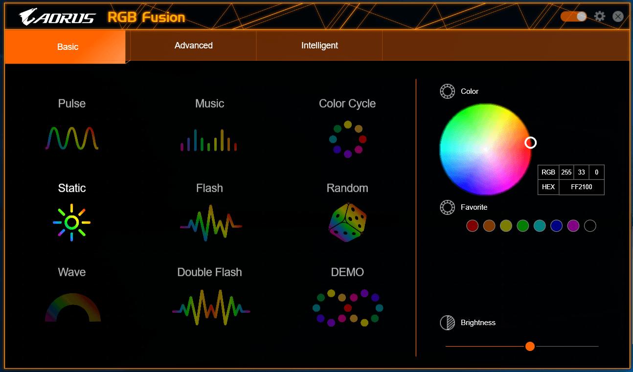 GIGABYTE RGB Fusion_1
