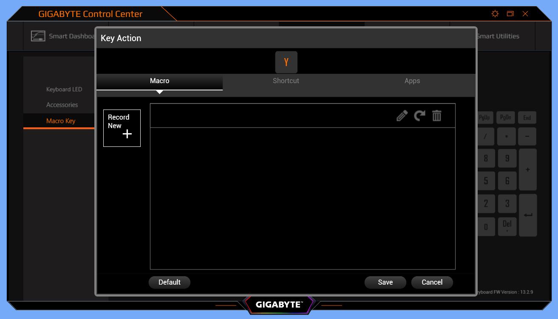 GIGABYTE AERO 15 OLED_CC_Keyboard_function (3)