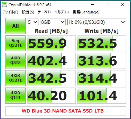 WD Blue 3D NAND SATA SSD 1TB_CDM