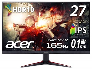 Acer VG270Sbmiipx (27インチ/フルHD/IPS/165Hz/FreeSync)