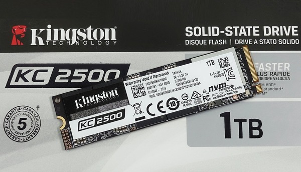 Kingston KC2500 1TB