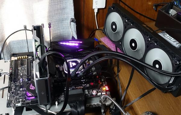 AMD AM4(X470) Test bench