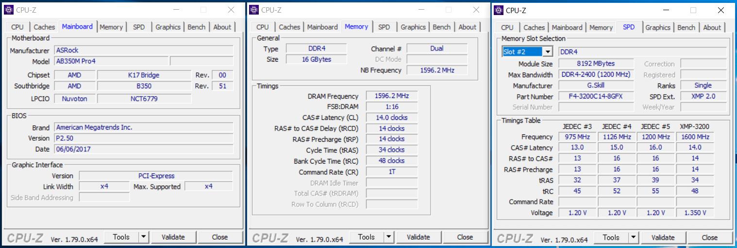 G.Skill FLARE X_XMP3200_ASRock_AB350M_1