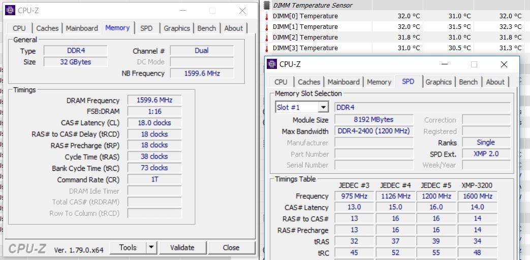 32GB,3200MHz