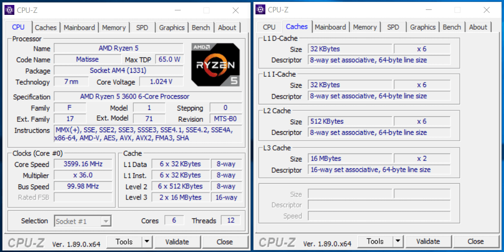 AMD AM4(X570)_CPU-Z
