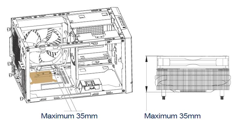 SilverStone SUGO 14_CPU-Cooler_with-140-radiator