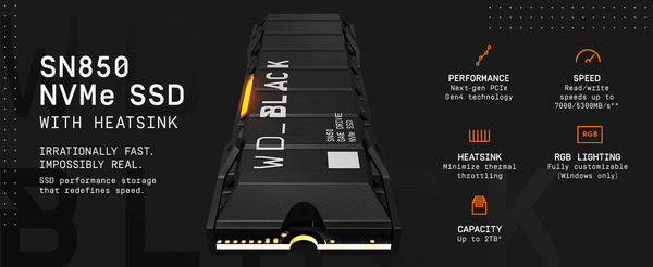 WD_BLACK SN850 NVMe SSD with Heatsink_top