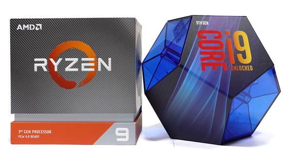 Ryzen 9 3900Xのコスパが光る、9900Kと3950Xとの頂上決戦!!