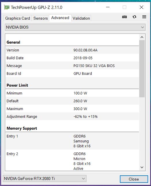 ZOTAC GAMING GeForce RTX 2080 Ti AMP_GPU-Z (3)