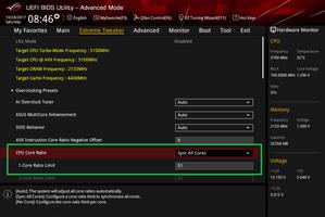 Core i7 8700K 5.1GHz OC BIOS Setting_1