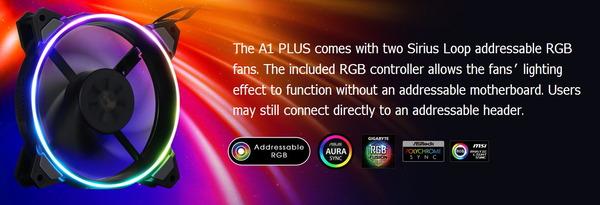 Sirius Loop ADD RGB Fans