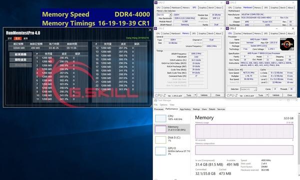 G.Skill Trident Z Neo_Ryzen 5000_16GBx2_4000MHz_CL16_ASUS