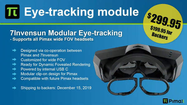 Pimax Eye-Tracking Module