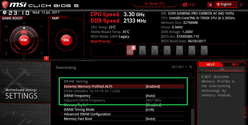 MSI X299 GAMING PRO CARBON AC_BIOS_OC_18