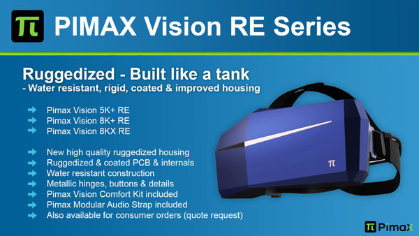 Pimax Vision RE Series