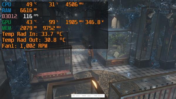 GeForce RTX 3090 EKWB_Time Spy Stress Test_ss
