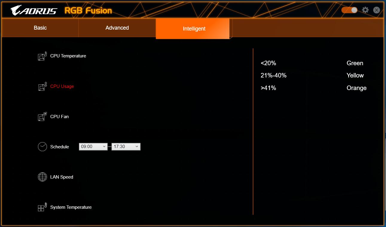 GIGABYTE RGB Fusion_3